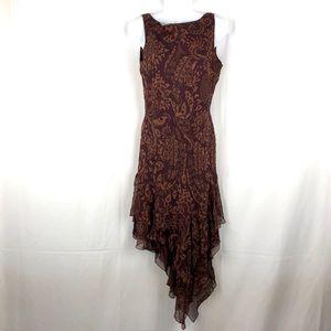 Morell Maxie Silk embellished midi dress 6